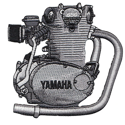 Lowbrow Customs Yamaha XS650 Motor Engine embroidered Patch