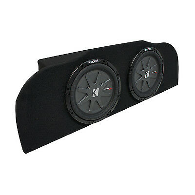 "03-15 Fits Infiniti G35 Coupe Kicker CompRT CWRT10 Subwoofer Dual 10"" Sub Box"