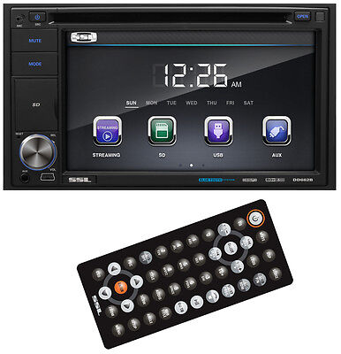 "SoundStorm 6.2"" Touchscreen 2 DIN CD/DVD Player USB/SD AUX Bluetooth 