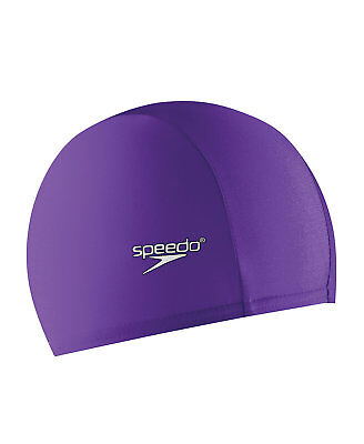 Speedo Nylon and Lycra® Blend Swim Cap - Purple - One Size