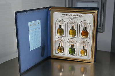 CONCENTRATED BATH ESSENCE LIMITED de Floris London 6x5ml. VINTAGE