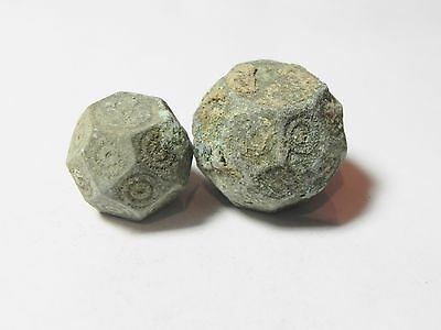 Zurqieh -Aa1978- 2 Ummayyad Bronze Weights (Waznah),  7- 8Th Cent. A.d