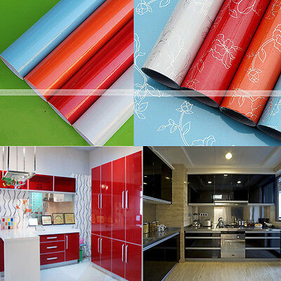 YAZI Cupboard Drawer Unit Self Adhesive Vinyl Cover Sticker Liner Contact Paper