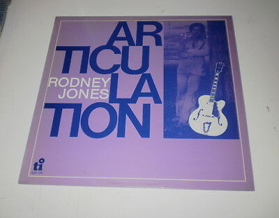 Rodney Jones - Articulation - Timeless Records - Lp 1978 - Made In Holland -