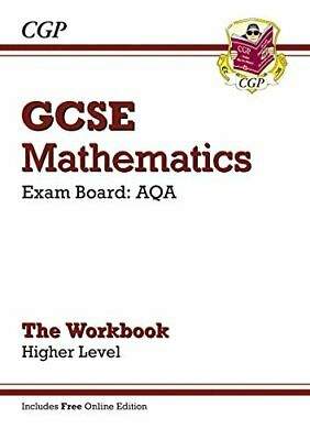 GCSE Maths AQA Workbook with online edition - Higher (... by CGP Books Paperback