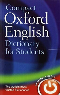 Compact Oxford English Dictionary for University and College S... Paperback Book