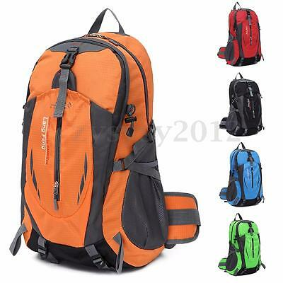 35L Waterproof Travel Camping Sport Hiking Daypack Rucksack Outdoor Backpack UK