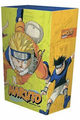 Masashi Kishimoto Naruto Box Set 1: 1-27 Complete Childrens Books Collection New