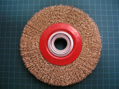 "(L0T of 4) - 5"" Wire Wheel Brush 125mm  Bench Grinder"