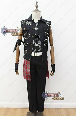 Final Fantasy XV Prompto Argentum Cosplay Costume Without Pants