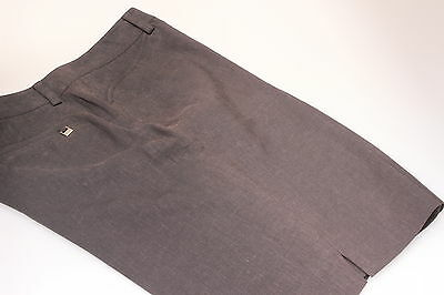 Annika by Cutter & Buck Shorter Length Golf Shorts Dark Grey Linen Mix 12,14 20