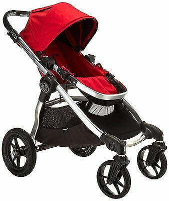 Baby Jogger 2016 City Select Double Stroller - Ruby (Silver Frame) - Brand New!
