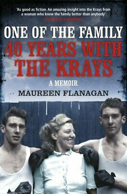 One of the Family: 40 Years with the Krays by Jacky Hyams Book The Cheap Fast