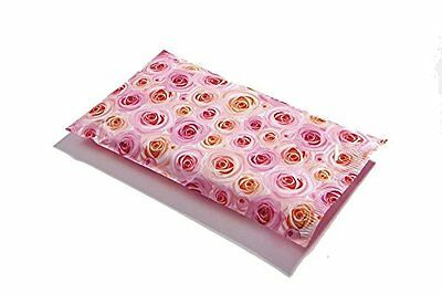 100 6x9 Pale Pink Roses Designer Mailers Poly Shipping Envelopes Boutique Bags