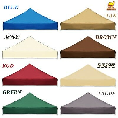 10x10u0027 Ez Pop Up Replacement Canopy Top Patio Pavilion Gazebo Sunshade Cover  sc 1 st  PicClick & EURMAX 10u0027x10u0027 Replacement Canopy Top fit EZ UP Canopy CARAVAN ...