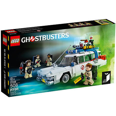 LEGO Ghostbusters ECTO-1 Cuusoo 21108 Limited Edition Box Set