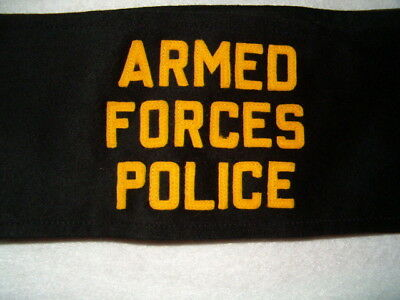 US - Armed Forces Police Arm Band, genuine item