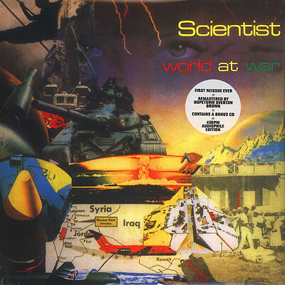 Scientist - World At War (Vinyl LP+CD - 1981 - EU - Reissue)