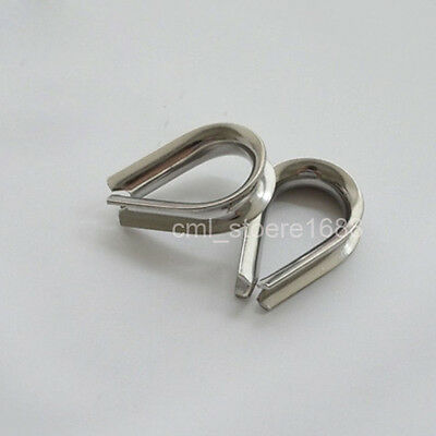 Heavy-Duty Thimble Type 304 Stainless Steel Rope Thimble M2 to M10