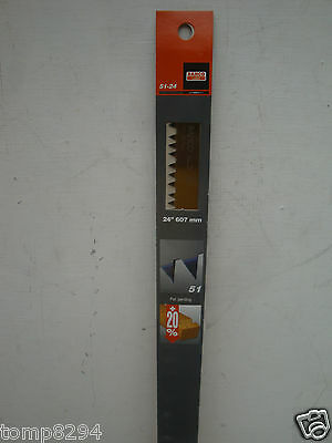 "Bahco 51 24"" Peg Tooth Bowsaw Or Logging Hardpoint Saw Blade Special"