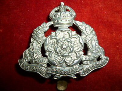 The Derbyshire Yeomanry KC Cap Badge, KK 1442