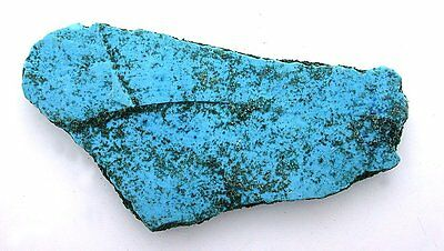 116 Gram Dyed Turquoise Blue Howlite Slab Cab Cabochon Gemstone Gem Rough HS3