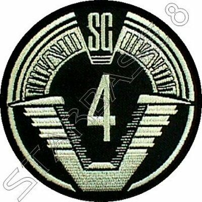STARGATE TEAM SG-4 UNIFORM PATCH Uniform Aufnäher - STARGATE SG-1