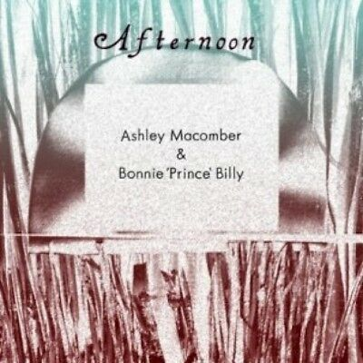 "Bonnie Prince Billy & Ashley Macomber Afternoon 10"" Vinyl Record & Book! non lp!"
