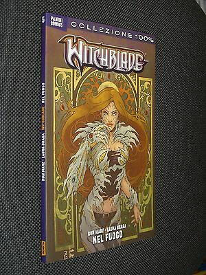 """Witchblade N.5 Nel Fuoco - 100% Panini - Come Nuovo """"n"""""""