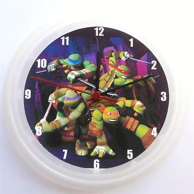 Brand New  Wall Clock Tmnt Teenage Mutant Ninja Turtles Free P&p