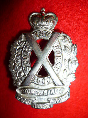 The Scottish Horse Yeomanry Cap Badge
