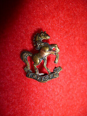 Scarce 6th (Cyclists) Battalion Royal West Kent Regiment Officer's Collar Badge
