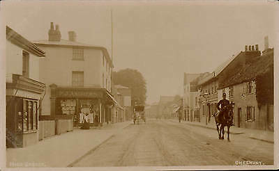 Cheshunt. High Street. P.J.Andrews Shop.
