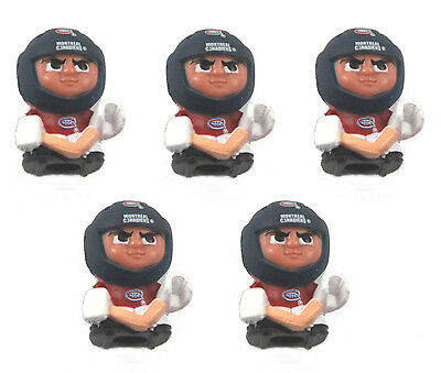 New Arrival LOT 5 TEENYMATES NHL FIGURES MONTREAL CANADIENS FIGURES SET Hot sale