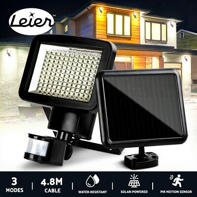 120 LED Solar Sensor Light Motion Security Light Detection Garden FLood