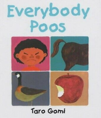 Everybody Poos by Gomi, Taro Paperback Book The Cheap Fast Free Post