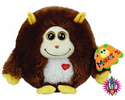"Ty Beanie Babies Monstaz Rocko 6"" Talking Sound Effect Soft Toy New With Tags"