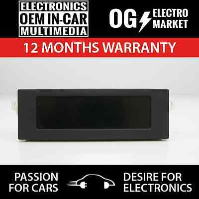 Peugeot 307 Citroen Central Info Display Monitor Lcd  Mfa Mmse- Emf 98041721Xt