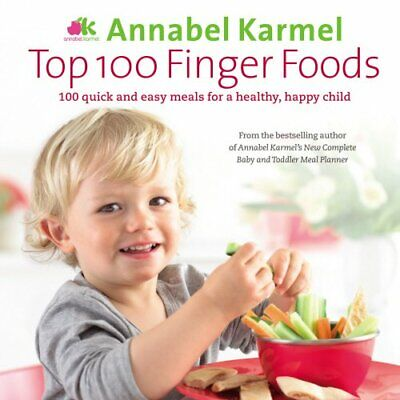 Top 100 Finger Foods by Karmel, Annabel Hardback Book The Cheap Fast Free Post