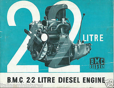 Austin BMC 2.2 Litre Diesel Engine 1959 Original Brochure