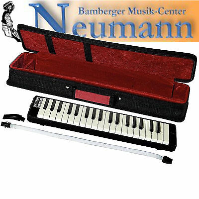 Melodica 37 Buttons Wind instrument Keyboard with case and Carrying strap