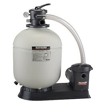Hayward Pro Series S210T93S 21-Inch Top-Mount Above Ground Pool Sand Filter S...