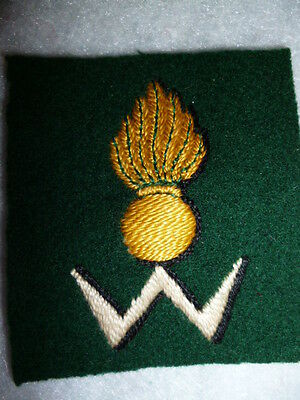 34th Anti-Aircraft Brigade Royal Artillery, Woven Formation Patch / Sign