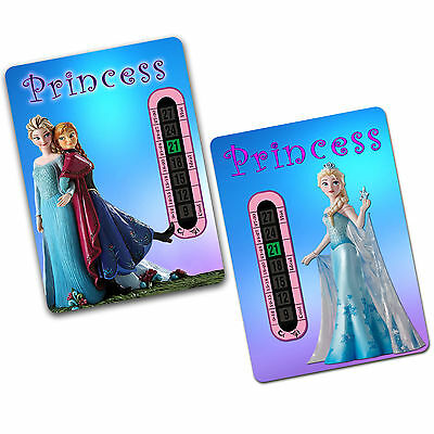 Child and Baby Frozen Room and Nursery Thermometer Twin Pack