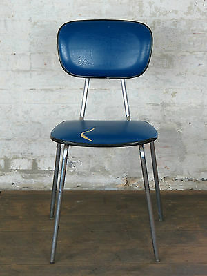 Mid Century Magnificent Kitchen Bar Chair Stuhl Fauteuil Vintage 50s 60s 70s