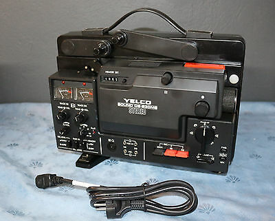 Yelco Sound DS-630 MS Stereo, Super 8 Stereo Projektor