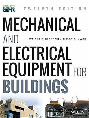 Mechanical and Electrical Equipment for Buildings. 9781118615904