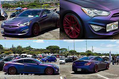 Blue-Purple-Red Chameleon Pearl Pigment Acrylic Urethane Clearcoat Activator PPG
