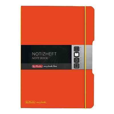 "Herlitz 11361482 ""my.Book"" Notizheft A4 ""my.Book Flex"" mit Wechselcover, 2 x 40"