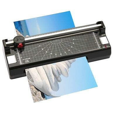 3 in 1 Laminating and Trimmer Photo cutter OLYMPIA A 240 Combo Hot Cold